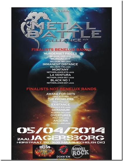 Metal Battle 2014