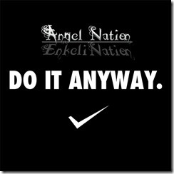 DO IT ANYWAY cd cover
