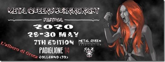 Metal Queen's Burning Night 2020